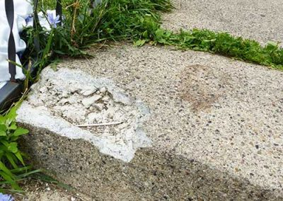 Damaged Steps Repair